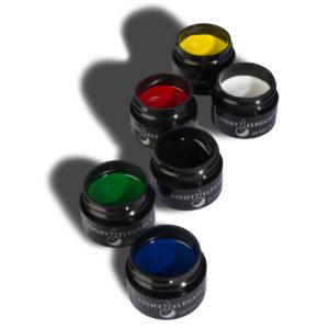 Kit de pinturas de gel para arte colores primarios «Primary LE Gel Paint»