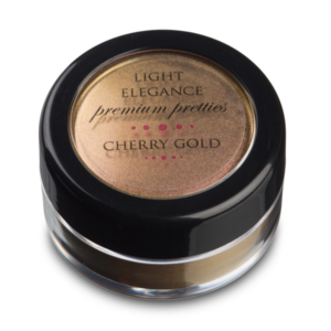 "Efecto en polvo ""Cherry Gold Premium Pretty"""