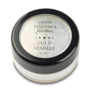"Efecto en polvo ""Gold Sparkle Pretty Effect"""