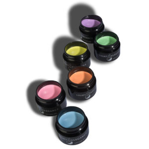 "Kit de pinturas de gel para arte colores pastel ""Pastel LE Gel Paint"" 