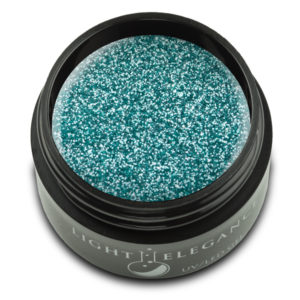 Ice Blue Glitter Gel UV/LED