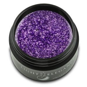 Violet Glitter Gel UV/LED