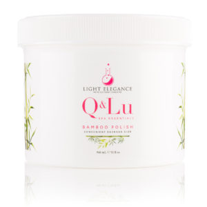 «Q&LU BAMBOO POLISH» Exfoliante en crema | Light Elegance