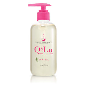 """Q&LU SPA OIL"" Aceite para masaje 
