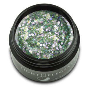 Say it ain't Cilantro Glitter Gel UV/LED | Light Elegance