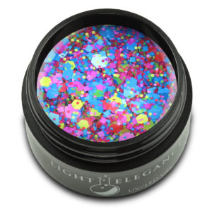 Sangria Glitter Gel UV/LED | Light Elegance