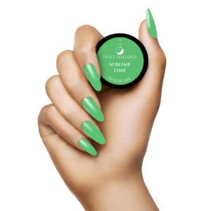 Sublime Lime Color Gel UV/LED | Light Elegance
