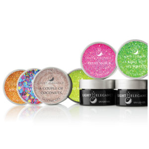"""Summer Squeeze"" Colección Glitter Gel UV/LED"