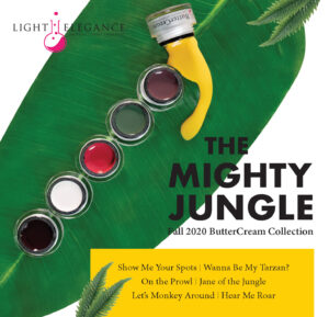 The Mighty Jungle BUTTERCREAM COLECCIÓN   LIGHT ELEGANCE